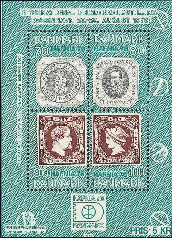 DENMARK 565 NH Sheet/4 (22319)