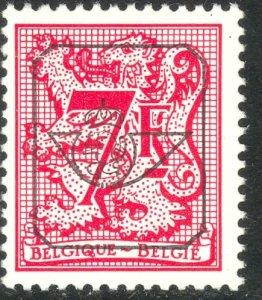 BELGIUM 1980-86 7fr Heraldic Lion Type PRECANCEL Sc 1086 MNH