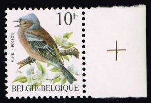 Belgium #1230 Pinson Bird; MNH (0.25)