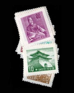 VINTAGE: KOREA 1957 OG NH PO FRESH SCOTT # 268-282 $ 475 LOT # 1957UIO