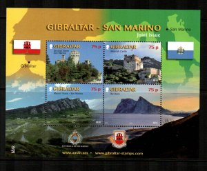 Gibraltar #1237  MNH  Scott $13.50   Miniature Sheet