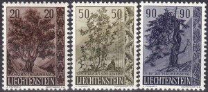 Liechtenstein #326-8  F-VF Unused  CV $10.50 (Z5178)