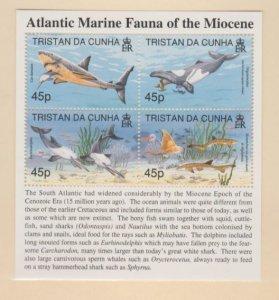 Tristan Da Cunha Scott #619 Stamps - Mint NH Souvenir Sheet