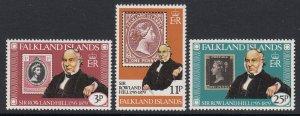 Falkland Islands 291-3 Rowland Hill mnh
