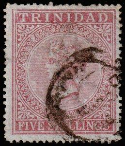Trinidad Scott 56 (1869) Used G-F, Cat. Value $90.00 M