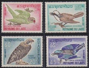 Laos 122-125 MNH (1966)