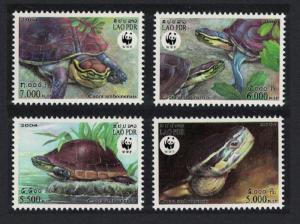Laos WWF Malayan Box Turtle 4v SC#1625 a-d MI#1927-1930