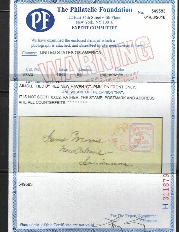 8XU2 (counterfeit) XF-on piece. With 2017 PF certificate