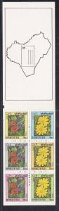 Iraq # 1108a, Local Flowers, Booklet, NH, 1/2 Cat.