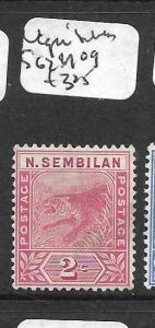 MALAYA NEGRI SEMBILAN (P0701B) TIGER 2C SG 1  MOG