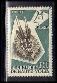 Upper Volta Very Fine MLH ZA6023