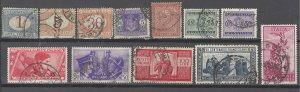 COLLECTION LOT # 2519 ITALY 12 STAMPS 1863+ CV+$15