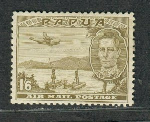 Papua New Guinea Sc#C15 M/LH/VF, High Value, Cv. $27.50