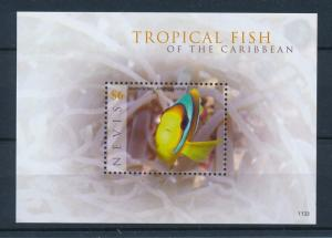 [35001] Nevis 2011 Marine Life Fish MNH Sheet