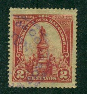 El Salvador 1903 #284 U SCV (2020) = $0.60