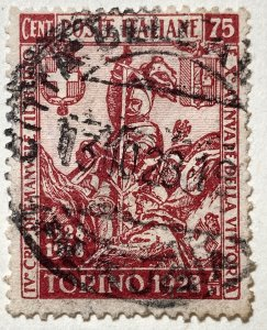 AlexStamps ITALY #205 FVF Used
