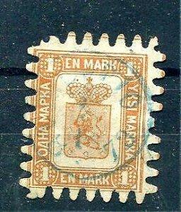 Finland/Russia 1866 Sc 11 Fa 10 Used Cv 900 euro 7606