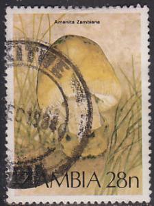 Zambia 316 Amanita Zambiana, Mushroom 1984