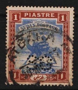 Sudan 1902/1921 Camel Post 1P (1/11) USED