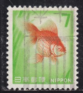 Japan 913 Used 1967 Goldfish
