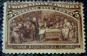U.S. 234 F+VF Mint SCV$70.00 Rich Color