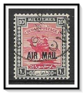 Sudan #C2 Airmail Used