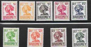 Set of 9 MNH Postage Due