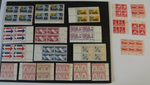 US Airmail & Special Delivery Plate Block Lot MNH - OG