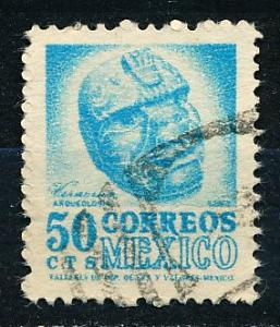 Mexico #863 Single Used