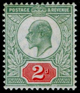 SG228 SPEC M11(3), 2d pale greyish green & scarlet-vermilion, M MINT. Cat £280.