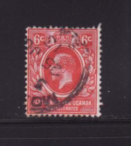 East Africa and Uganda Protectorates 42 U King George V (A)