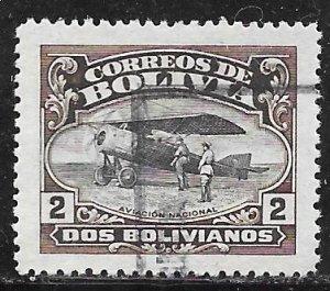 Bolivia C6: B2 Morane-Saulnier Aircraft, used, F-VF