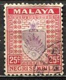 Malaya Negri Sembilan; 1936: Sc. # 29; O/Used Single Stamp