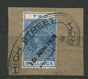 STAMP STATION PERTH New Zealand #AR32 Postal Fiscal Issue Used 1903 CV$14.00
