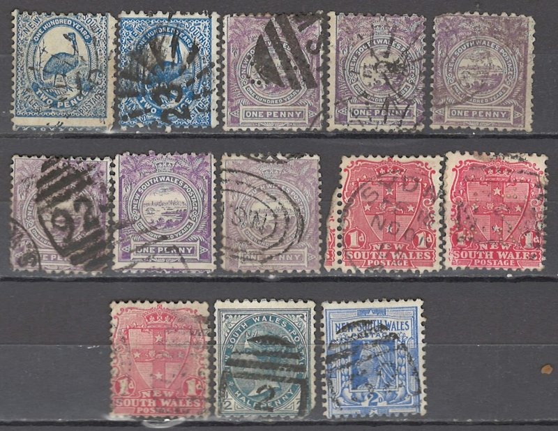 COLLECTION LOT # 1339 NEW SOUTH WALES 1888+ CLEARANCE CV+$12