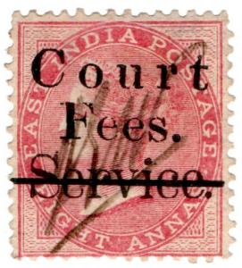 (I.B) India Revenue : Court Fees 8a