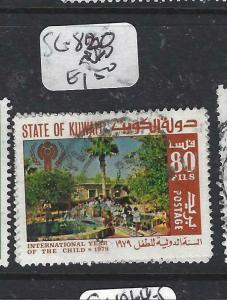 KUWAIT   (PP1305B)  UN  IYC  SG 820   VFU