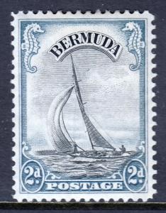Bermuda - Scott #108 - MH - Light toning - SCV $6.00