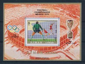 [43096] Jersey 1970 Sports World Cup Soccer Football  Mexico MNH Sheet