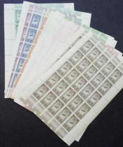 EDW1949SELL : ETHIOPIA 1931 Scott #C11-17. 50 Complete sets. VF MNH. Cat $400.00