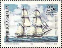 Argentina 1972 Navy Day Military Ship Transport Navigation Stamp MNH