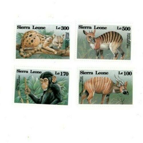 Sierra Leone MNH 1647-50 Animals Fauna