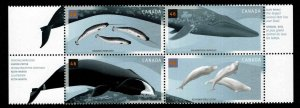 Canada Scott 1871a MNH** Whale block