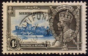 SIERRA LEONE 1935 1d Jubilee - ROTIFUNK cds................................47348