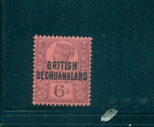 Br. Bechuanaland - Sc# 36. 1891 6p Victoria. Mint VLH. $9.75.