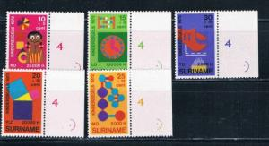 Surinam B187-91 MNH (S0015)