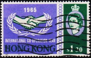 Hong Kong. 1965 $1.30 S.G.217 Fine Used