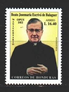 Honduras. 1999. 1497 from the series. 70 years of the religious organization ...