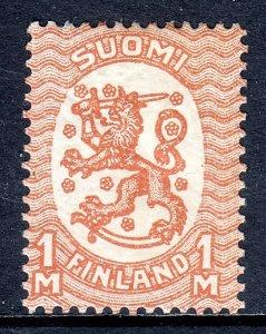 Finland - Scott #102 - MH - Crease - SCV $8.00