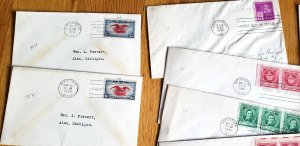 26 FDC's from 1938 // 1946 (N052)